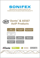 Sonifex CNew Products Brochure