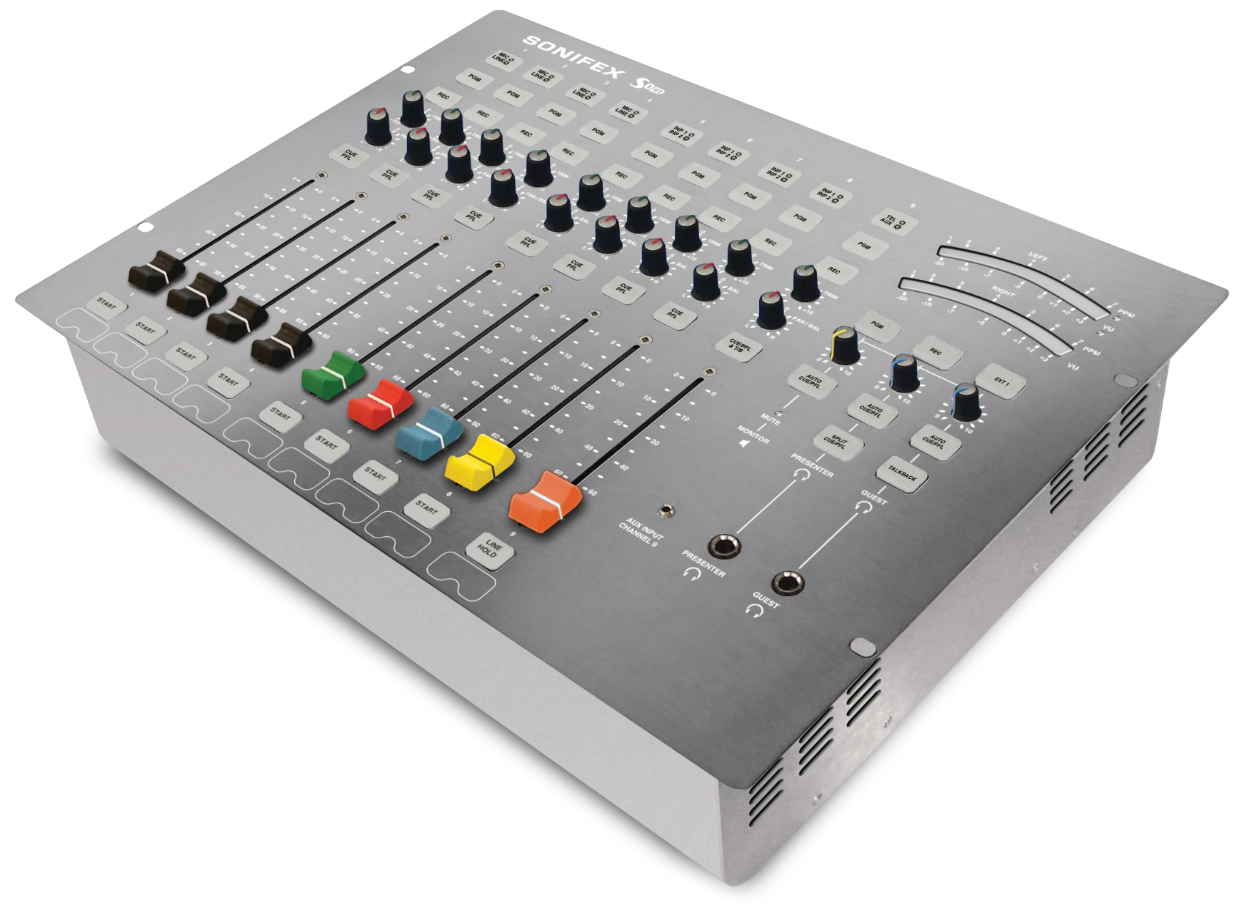 Sonifex S0v2 Digital Analogue Radio Broadcast Mixer Tutorial 3way Switches And 4way High Resolution Iso