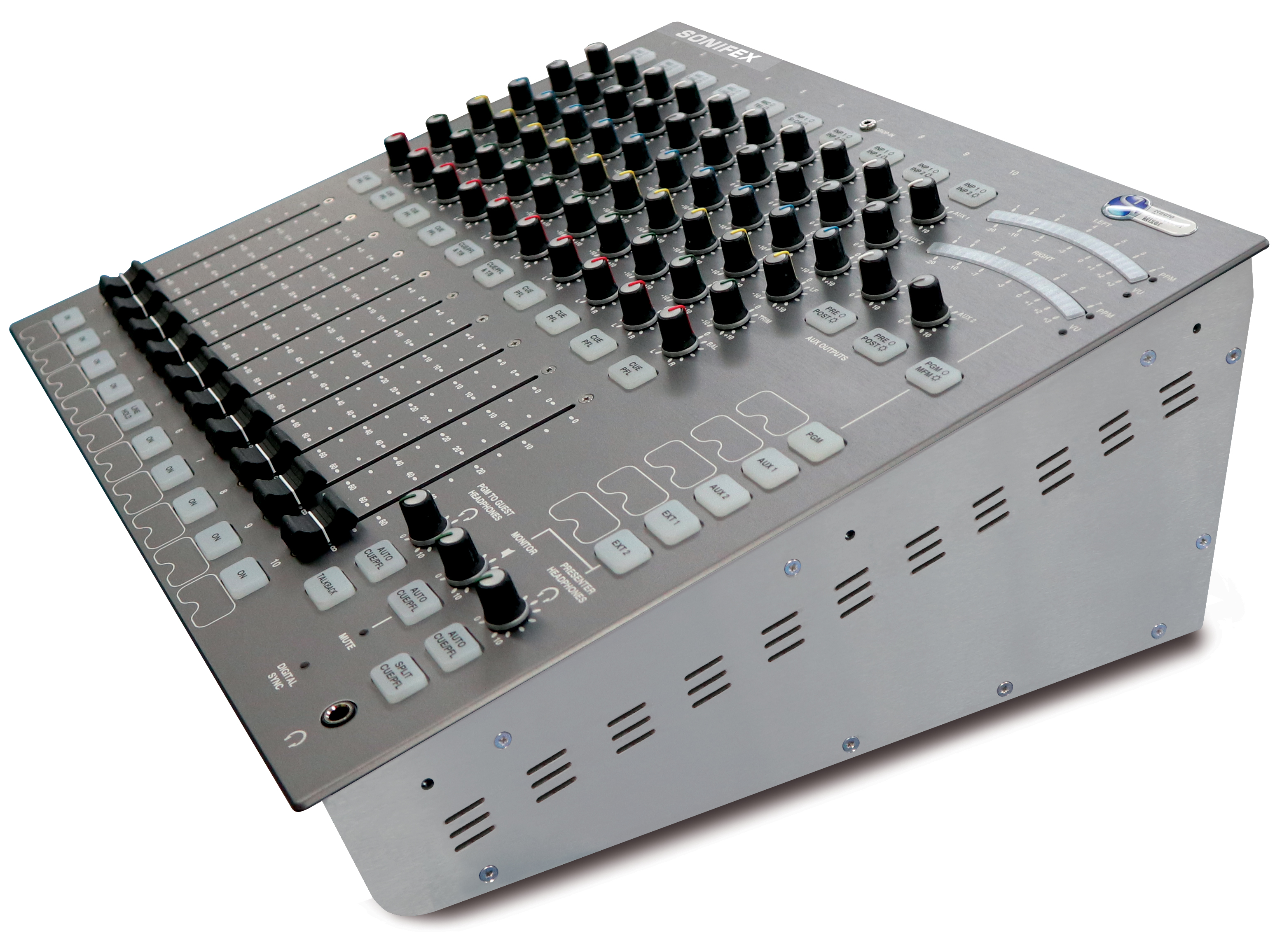Sonifex S1 Digital Analogue Radio Broadcast Mixer The Wireless Remote Control Equipment Has Two Modes Latched High Resolution Iso