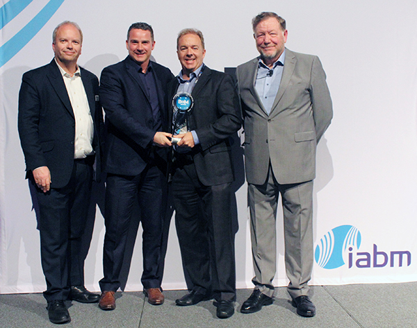 Sonifex receiving BaM Award