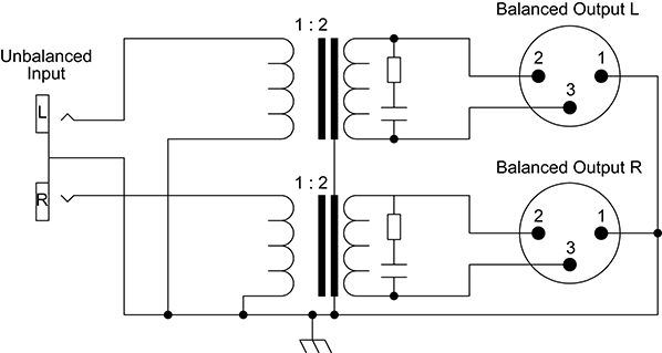 xlr connection diagram