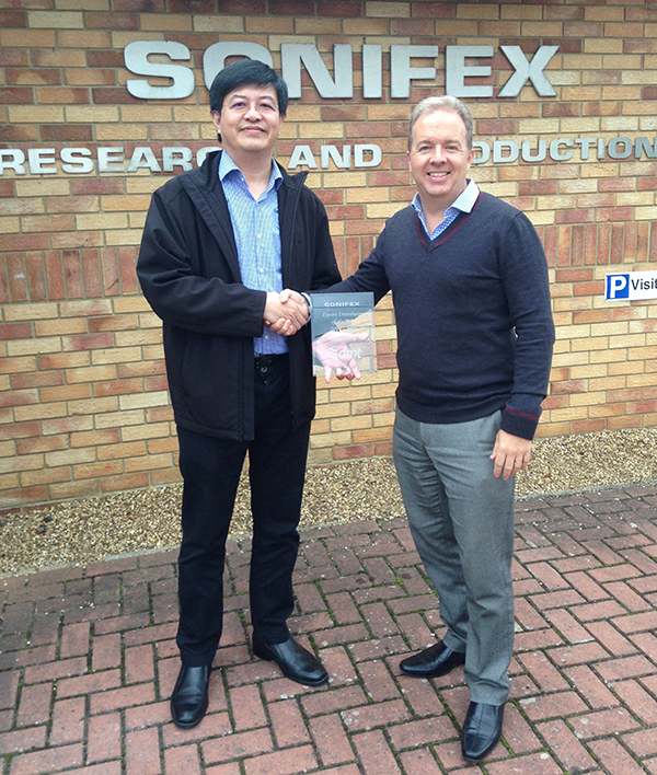 Sonifex award presented to DMT