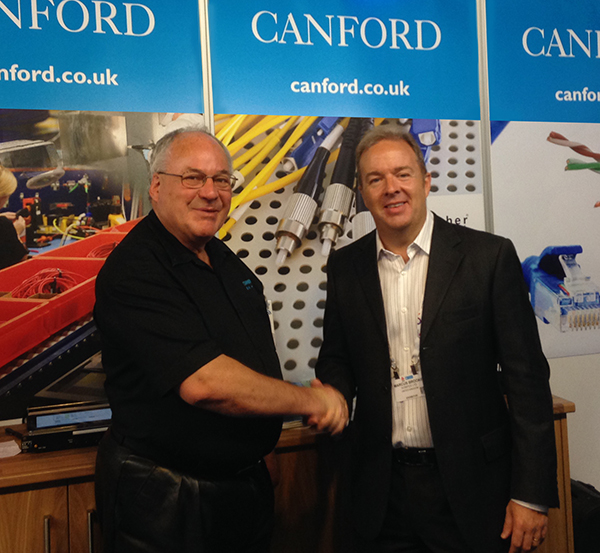 Sonifex award presented to Canford Audio