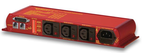 Sonifex RB-LC3 3-Wege-Netzspannungs-Fernschalter