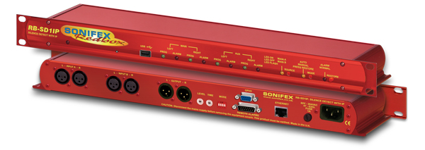 Sonifex RB-SD1IP Silence detection unit with Ethernet & USB